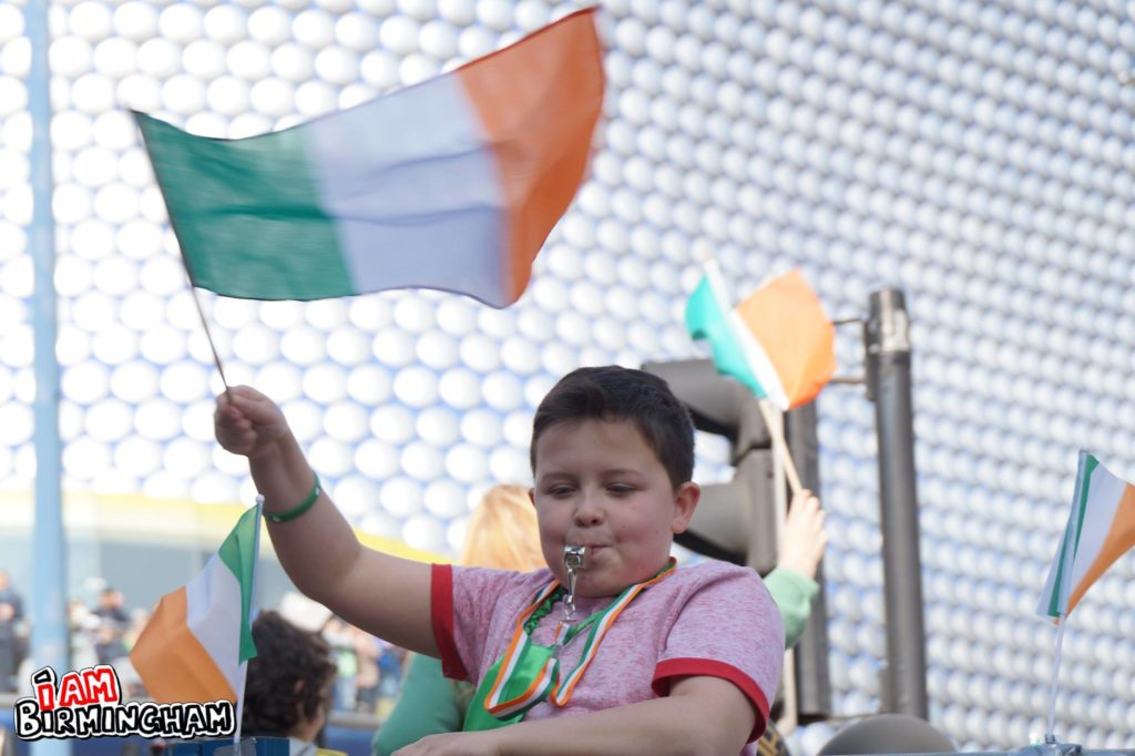 St Patrick's Day celebrations in Birmingham