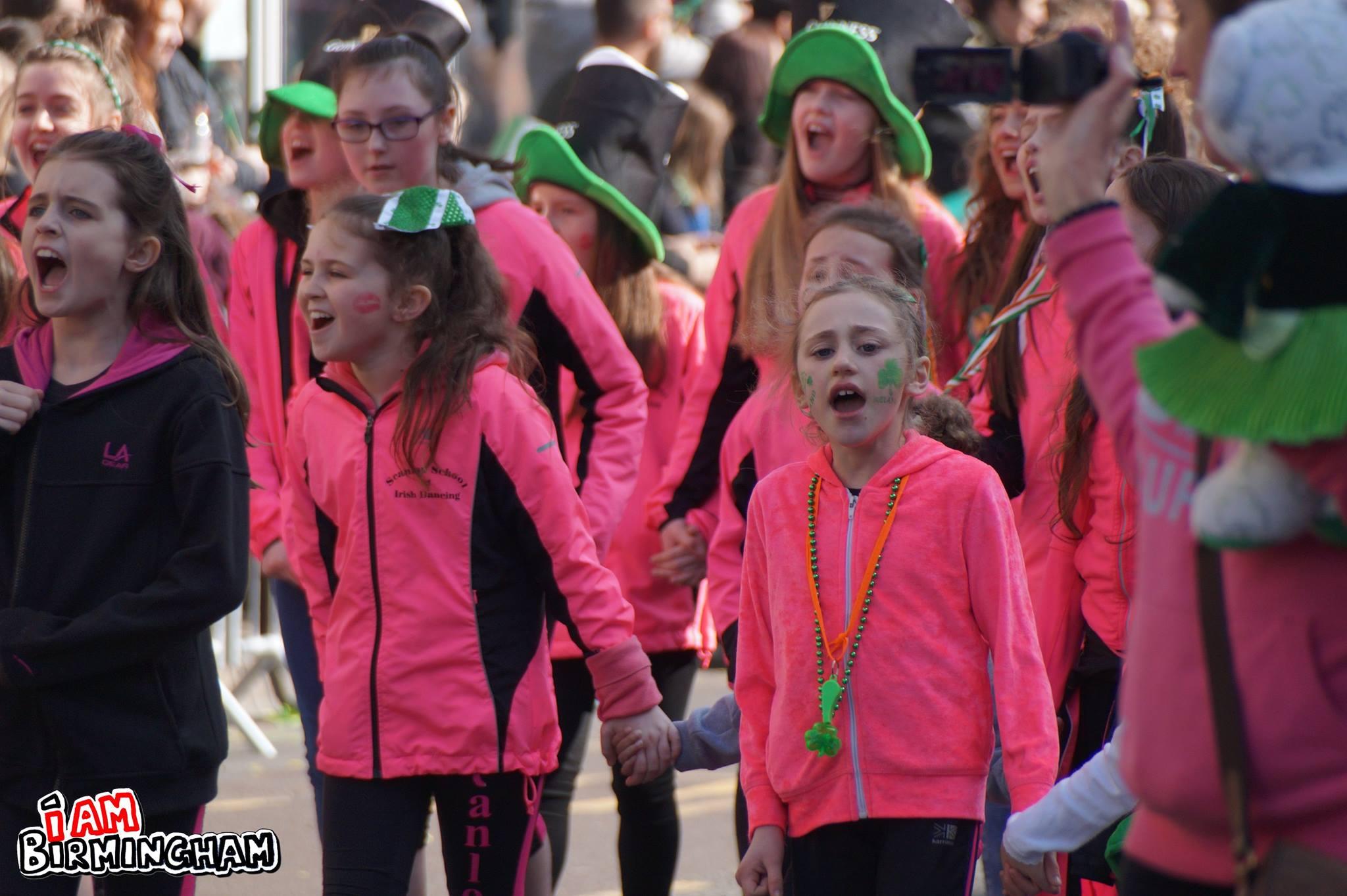 St Patrick's Day Birmingham (Photograph: Adam Yosef)