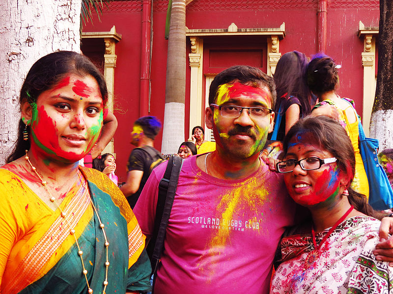Brummies celebrate Holi, the Festival of Love and Colours