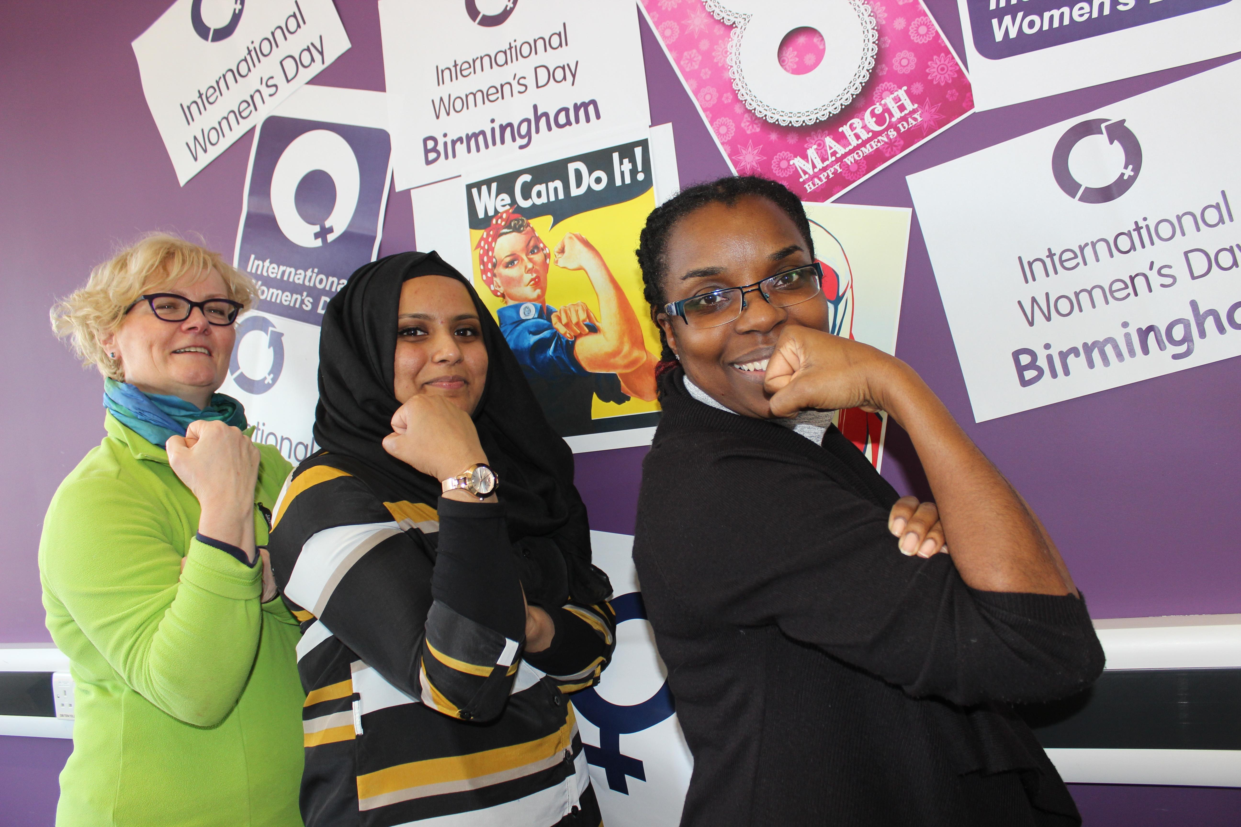 How is Birmingham celebrating International Women's Day?