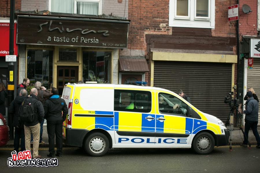 Anti-terror police raid Birmingham flat following London attacks