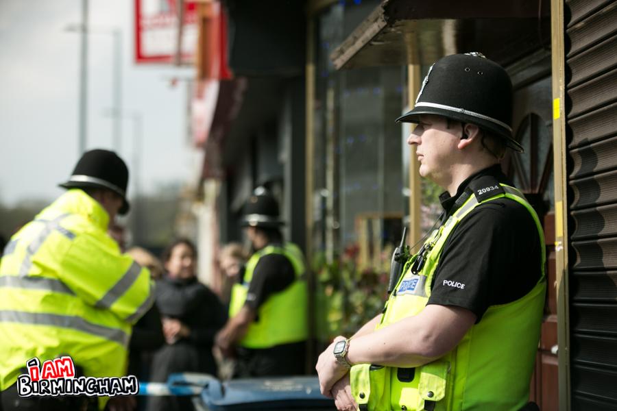 IN PICTURES: Birmingham anti-terror police raids following London Attacks