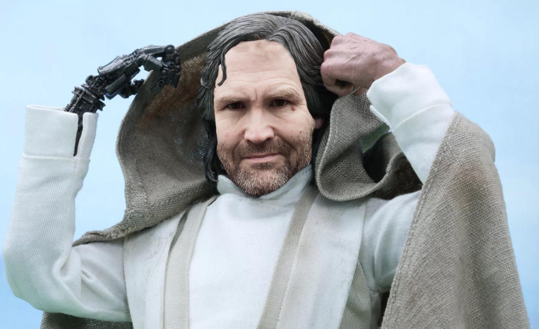He does like a good comeback, so it's Siôn Simon as Luke Skywalker