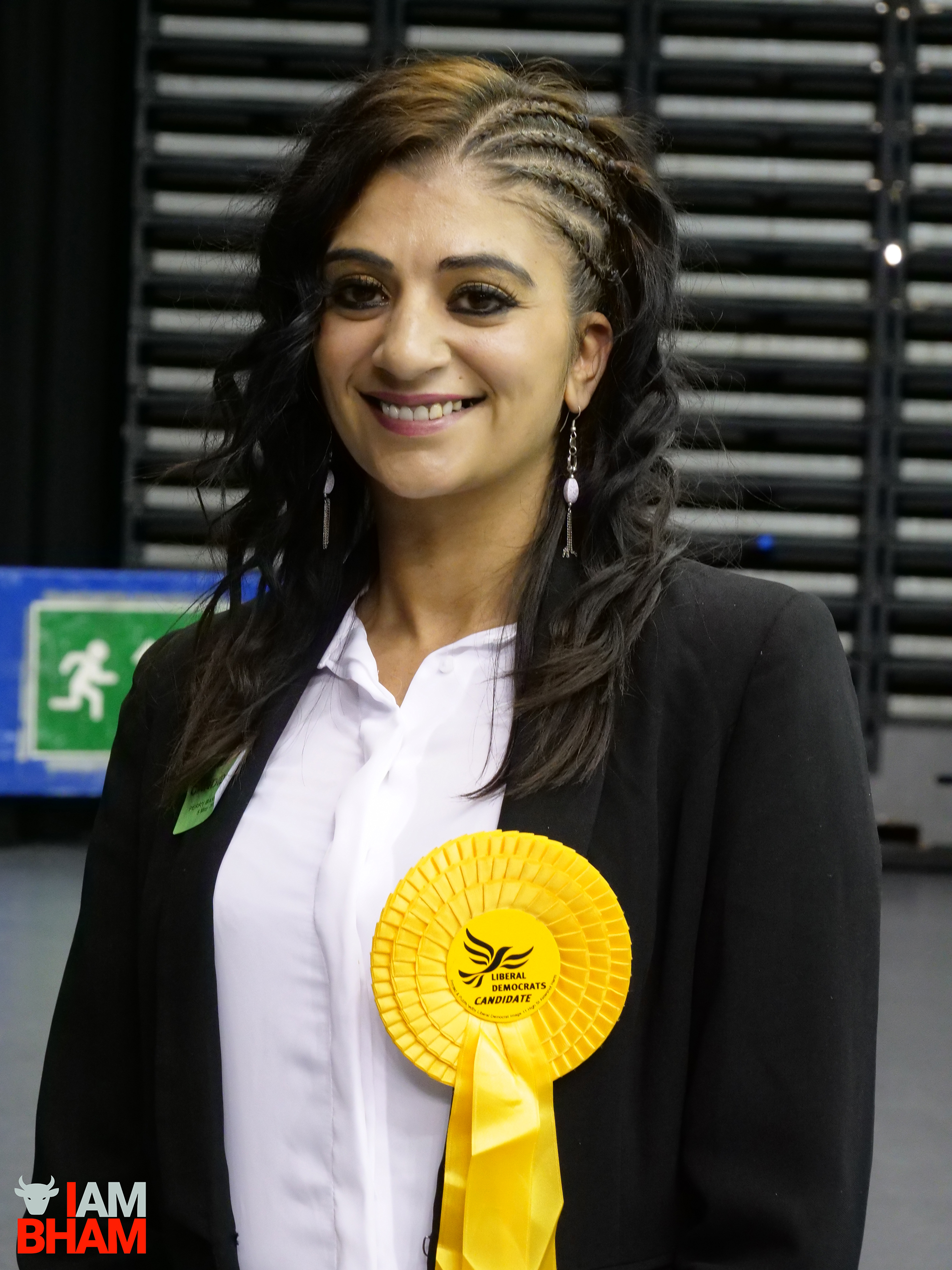 New Perry Barr councillor Mooriam Jan beams as Lib Dems hold the ward following a by-election