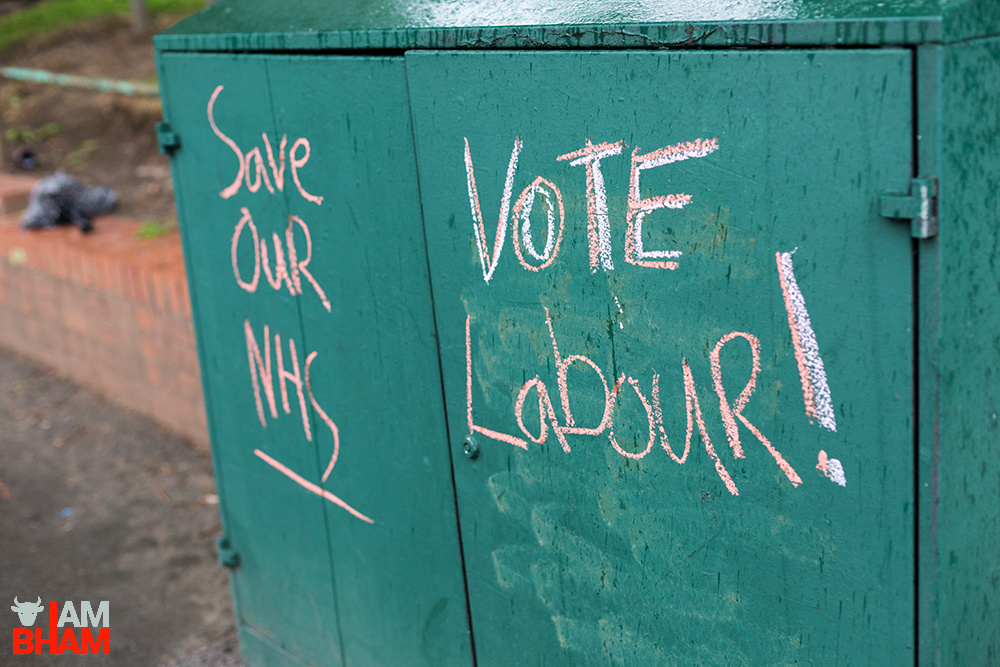 OPINION | Political activists scrawl city streets to chalk up Labour victory