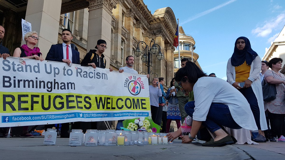 Vigil for London attack victims to be held in Birmingham