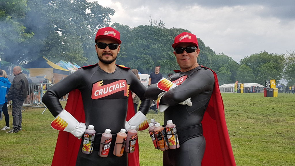 Crucials' 'Caped Crusaders' at last year's Simmer Down Festival