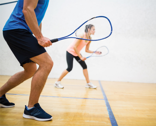 Squash facilities at the University of Birmingham Sport and Fitness Centre could be used during the 2022 Commonwealth Games