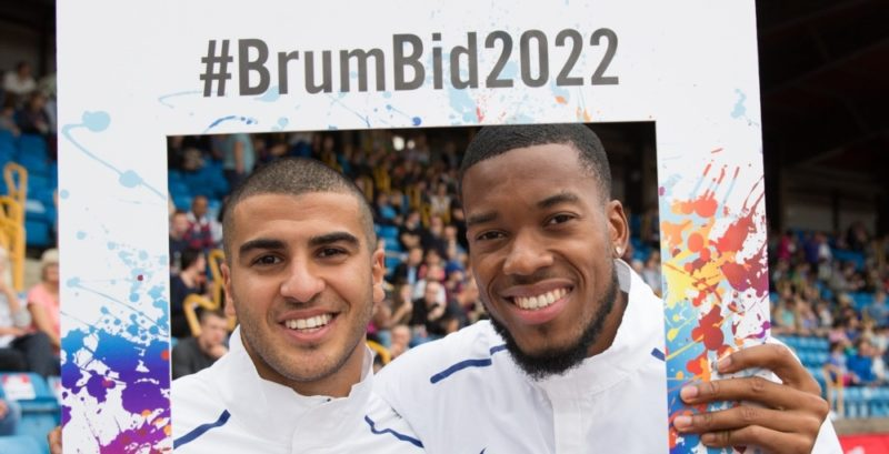 Over 60 top sports stars are  backing Birmingham's bid for the 2022 Commonwealth Games
