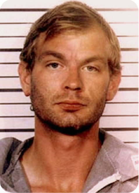 Artist Golden Boy used the an old school photo of serial killer Jeffrey Dahmer as the basis for his artistic muse in a series of stencil works that have been displayed around central Birmingham