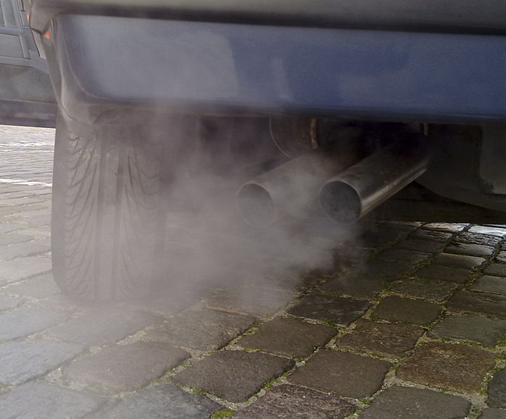 Cars are a major source of mobile air pollution