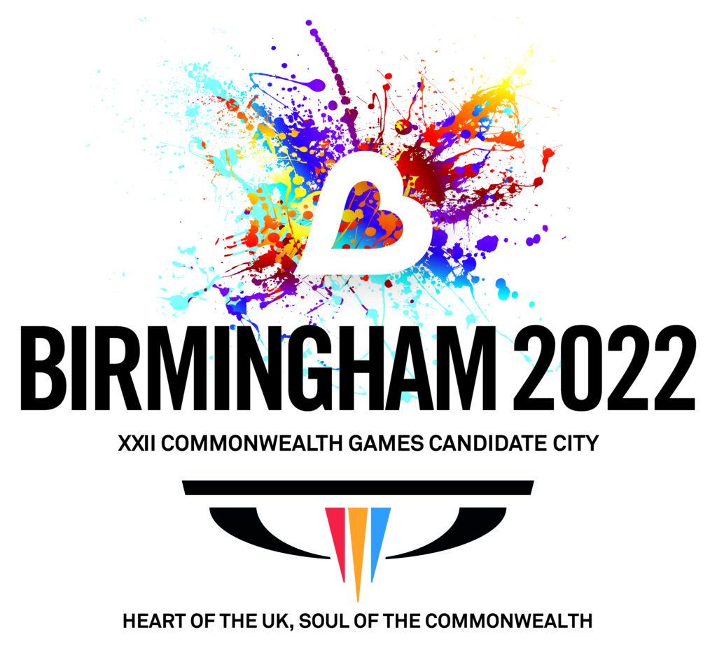 Birmingham's official logo for the 2022 Commonwealth Games bid
