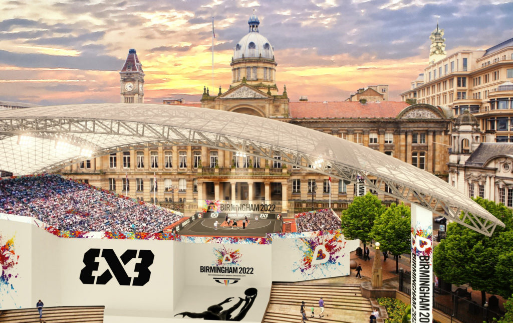 Concept art for the Birmingham 2022 Commonwealth Games as work continues across the city in preparation