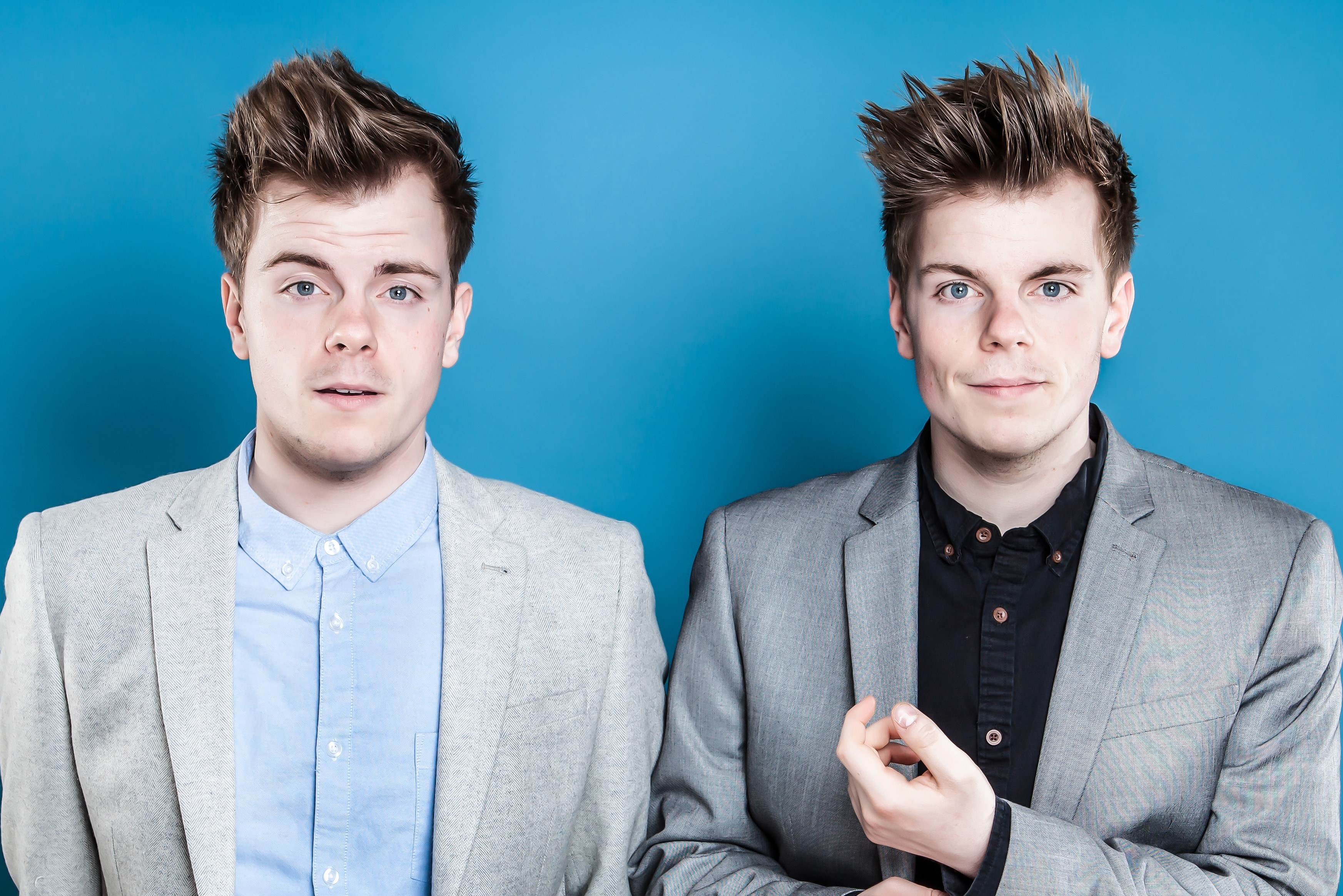 Niki & Sammy are known on YouTube for their punchy and self-depreciating humour, are everyone's favourite British twins
