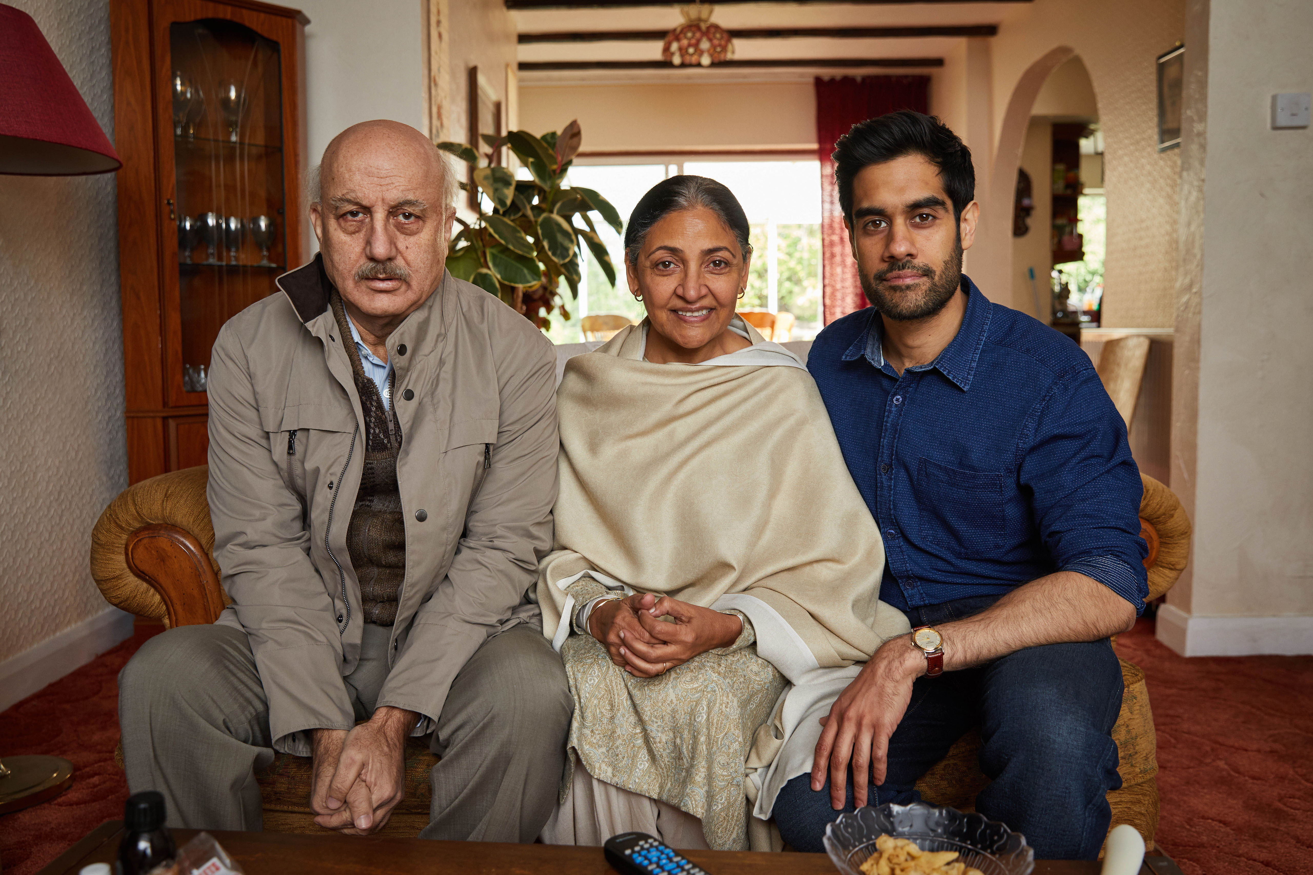 Sacha Dhawan appears in the adaptation alongside veteran actors Deepti Naval and Anupam Kher, who play the lead character's parents