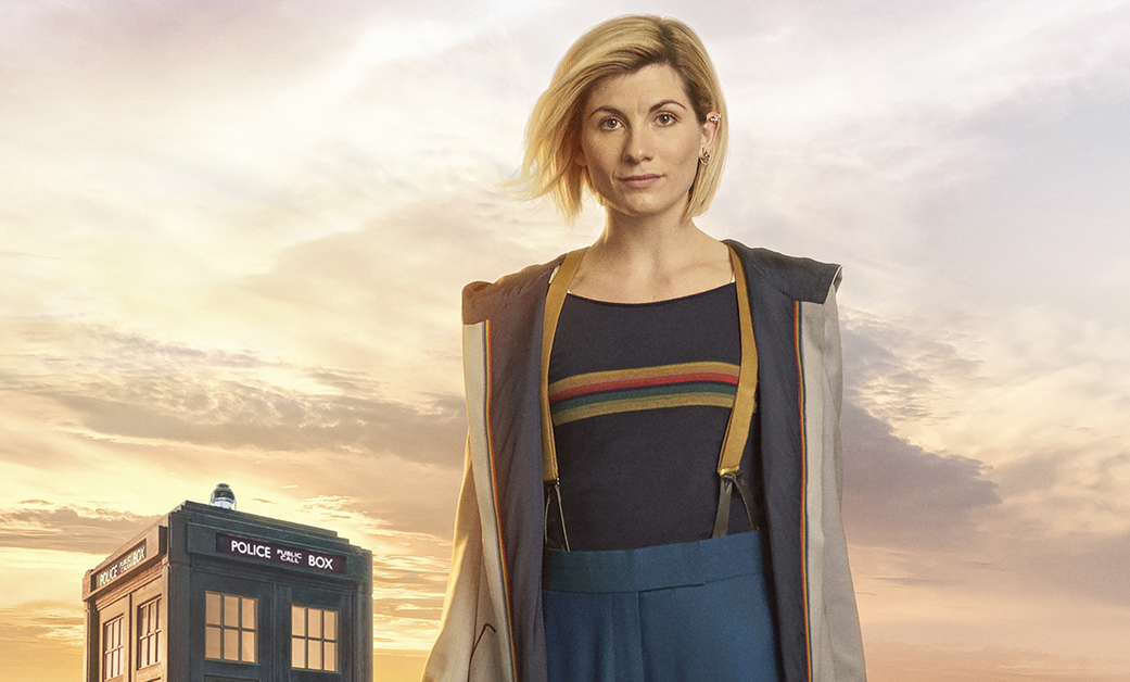 New Doctor Who Jodie Whitaker's costume revealed… and it's a bit Mork & Mindy