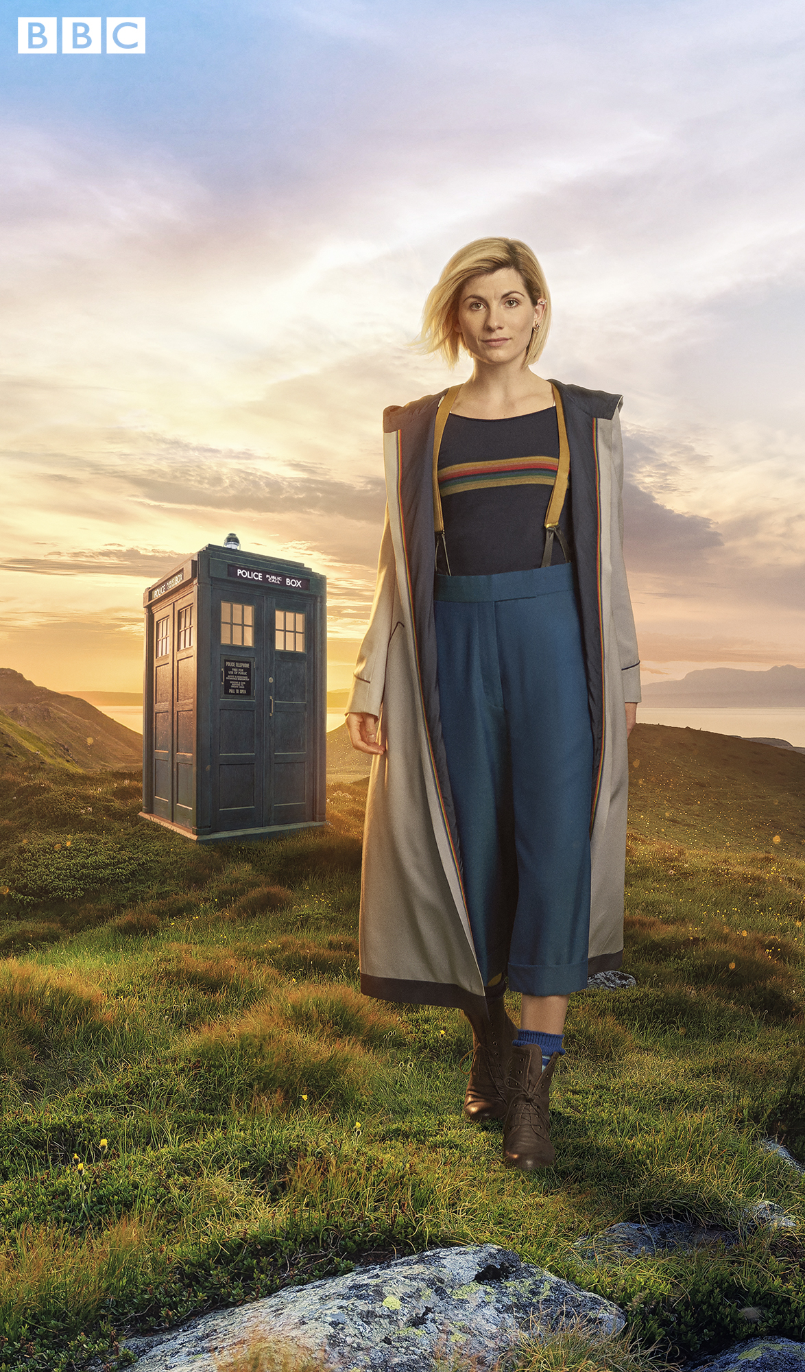 Jodie Whitaker will be the thirteenth Doctor Who when she takes over from Peter Capaldi on Christmtas Day