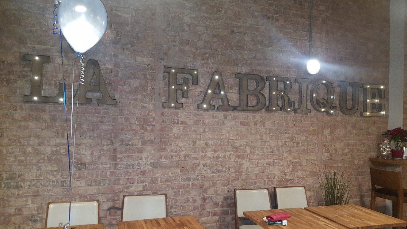 La Fabrique serves a menu of homemade, healthy and delicious dishes available to eat in or take away