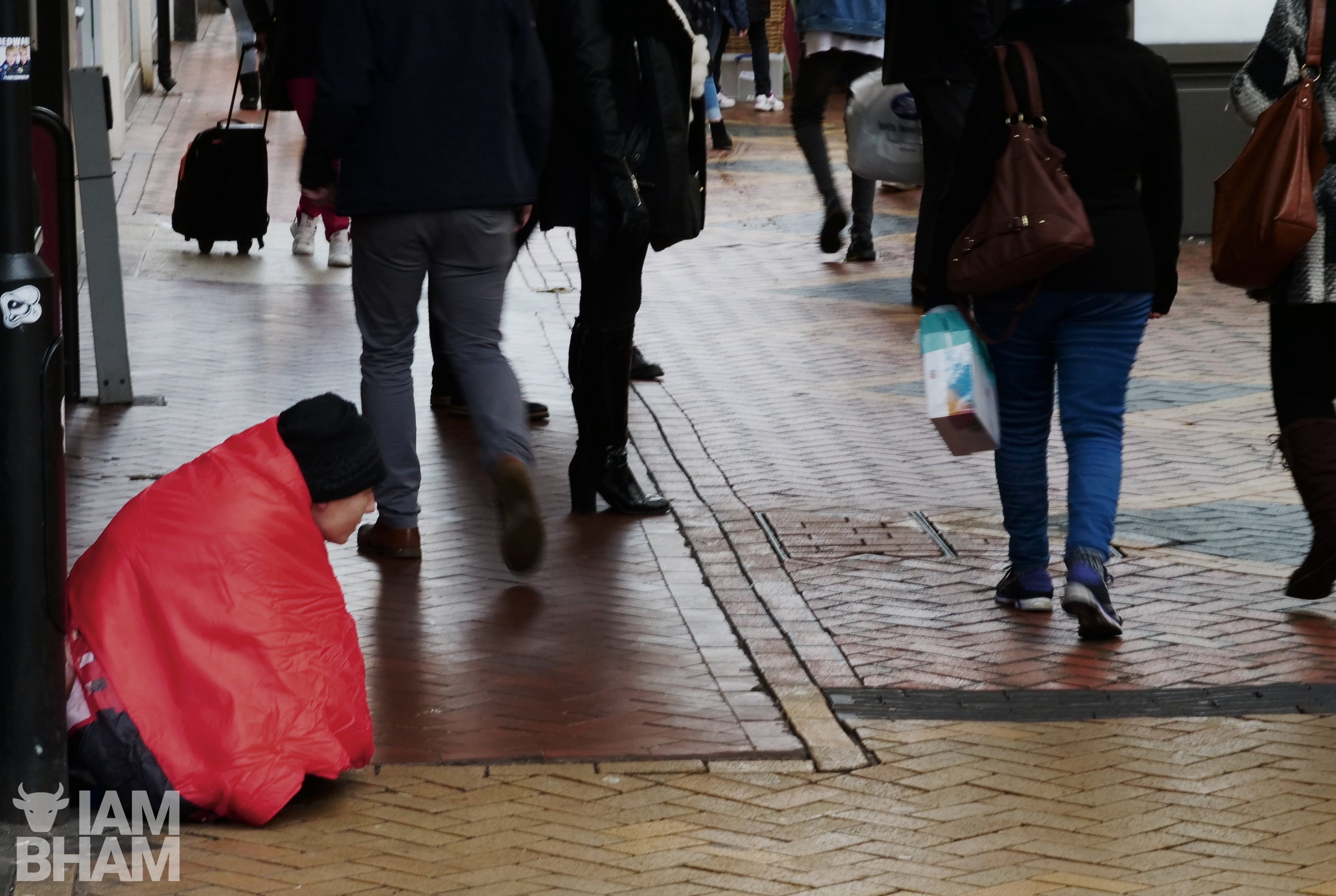 Birmingham Christmas Shelter provide a roof for rough sleepers during the Christmas period