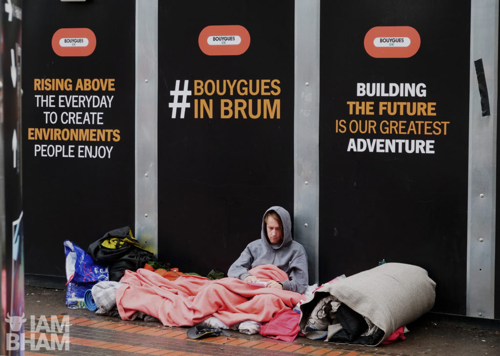 West Midlands mayor Andy Street has set up a task force to help the homeless, but says they're not responsible for the conditions of hostels