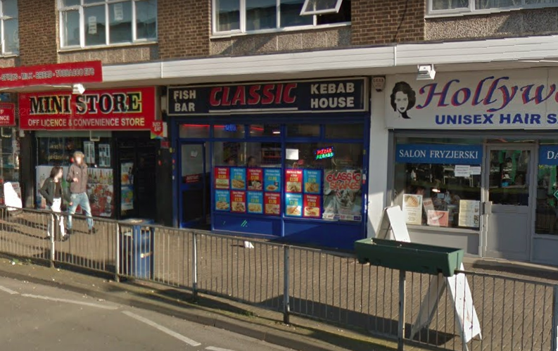 Classic Fish Bar in Erdington will be sharing free hot meals with the homeless on Christmas Day