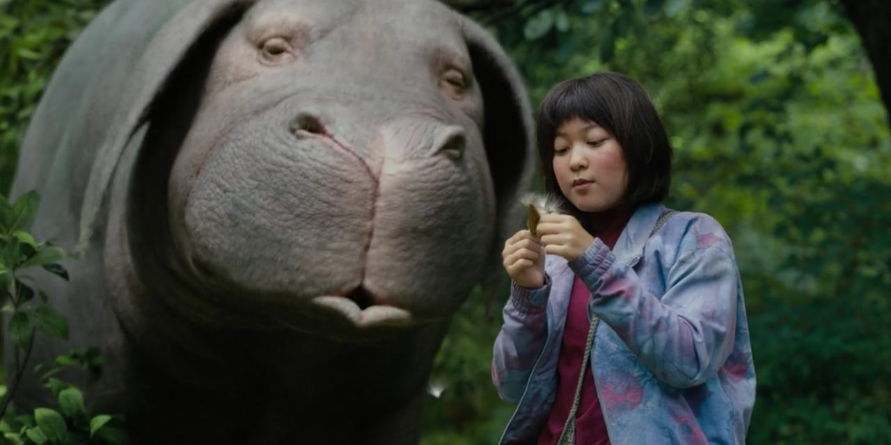 Half-Korean and Half-English, Okja encompasses many genres including adventure, dystopian science fiction, and a coming-of-age film