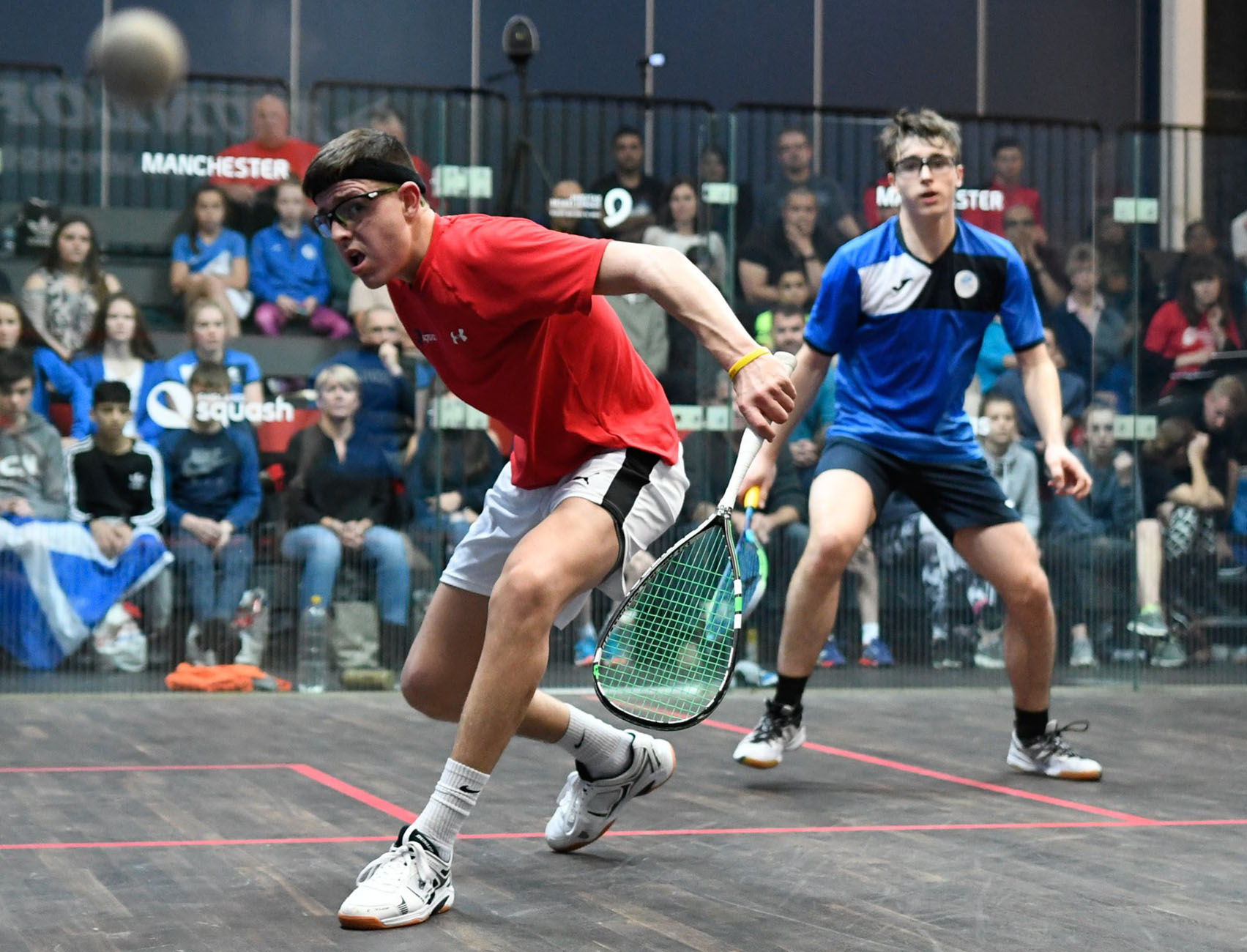 Solihull squash hopeful aims for glory at British Junior Open