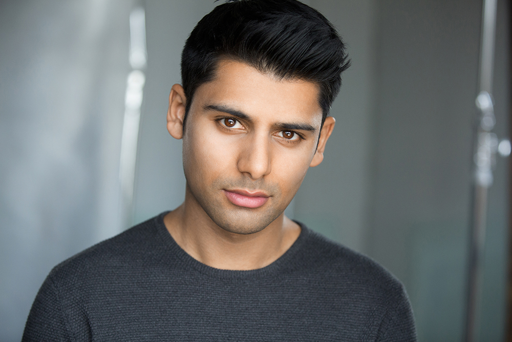 Birmingham-based actor Antonio Aakeel