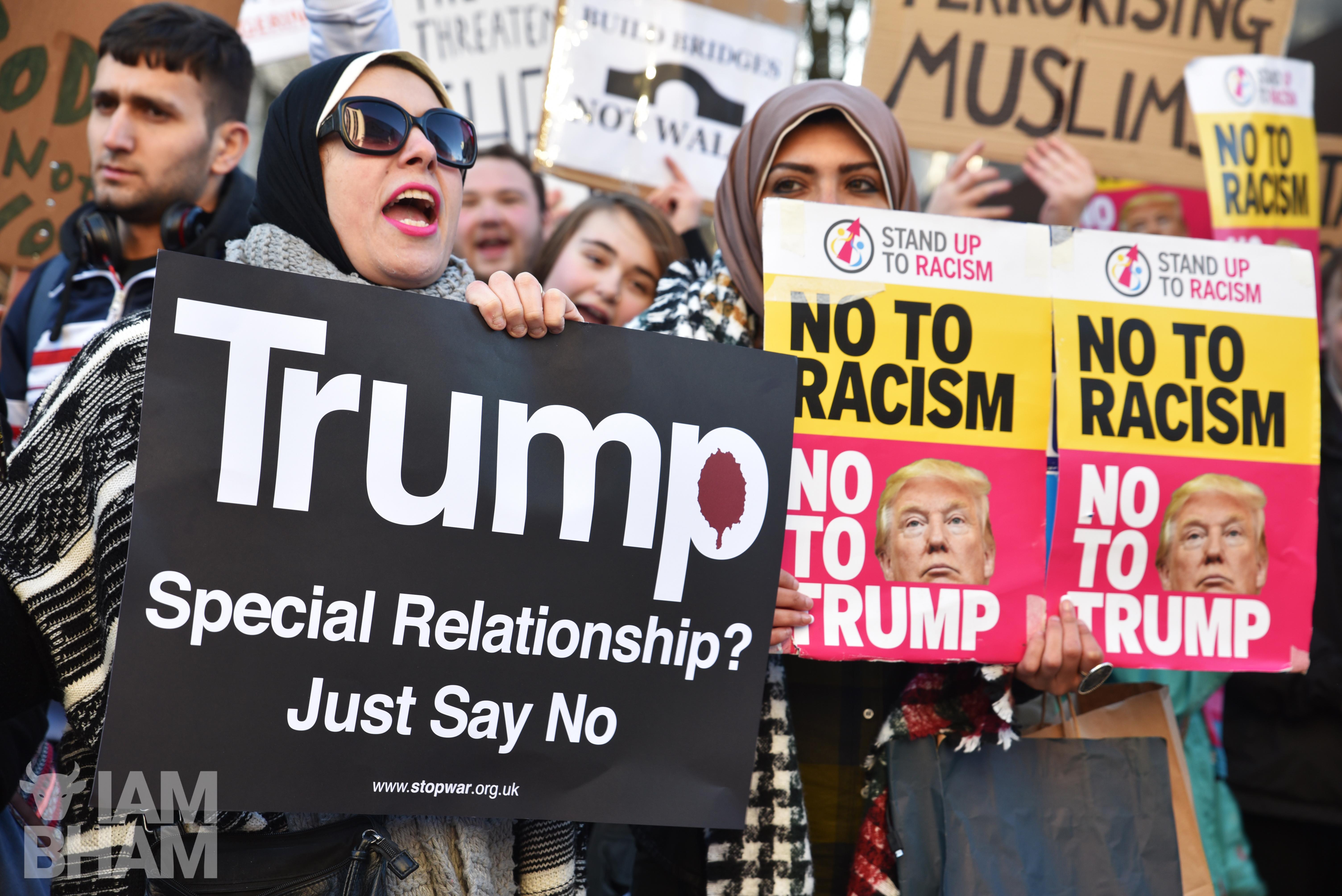 Public meeting opposing Trump's UK visit to be held in Birmingham