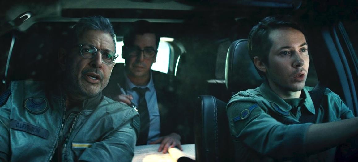 Ryan Cartwright alongside Jeff Goldblum in box office hit Independence Day: Resurgence