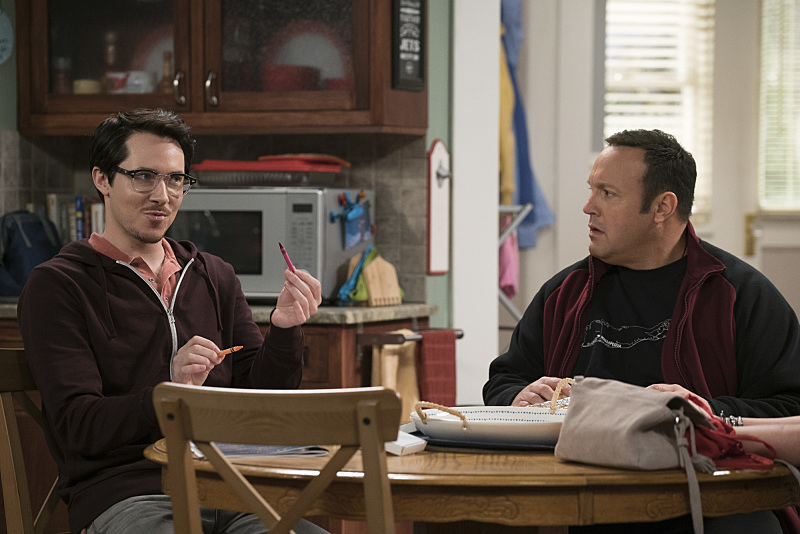 Birmingham actor Ryan Cartwright (left) appears in Kevin Can Wait alongside Kevin James
