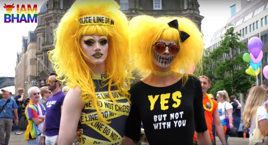 Birmingham Pride returns during the May bank holiday weekend