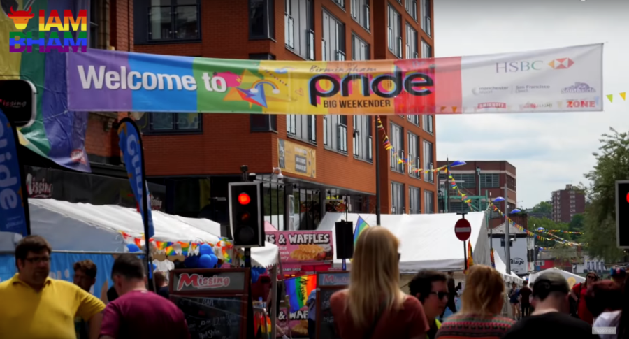 Birmingham Pride takes place in and around Hurst Street following a parade from Victoria Square