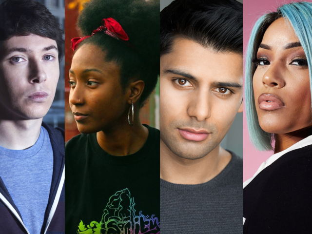(L-R): Brummies Ryan Cartwright, Lady Sanity, Antonio Aakeel and Stefflan Don are just some of the Birmingham showbiz stars to look out for in 2018