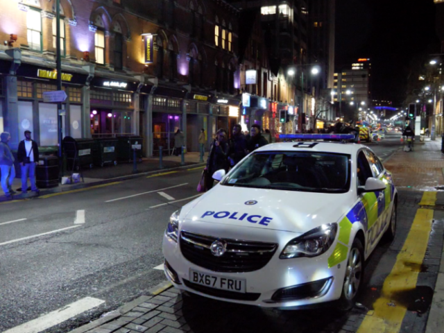 "Broad Street was partly cordoned off following an ""explosion"" at the Birmingham REP Theatre"