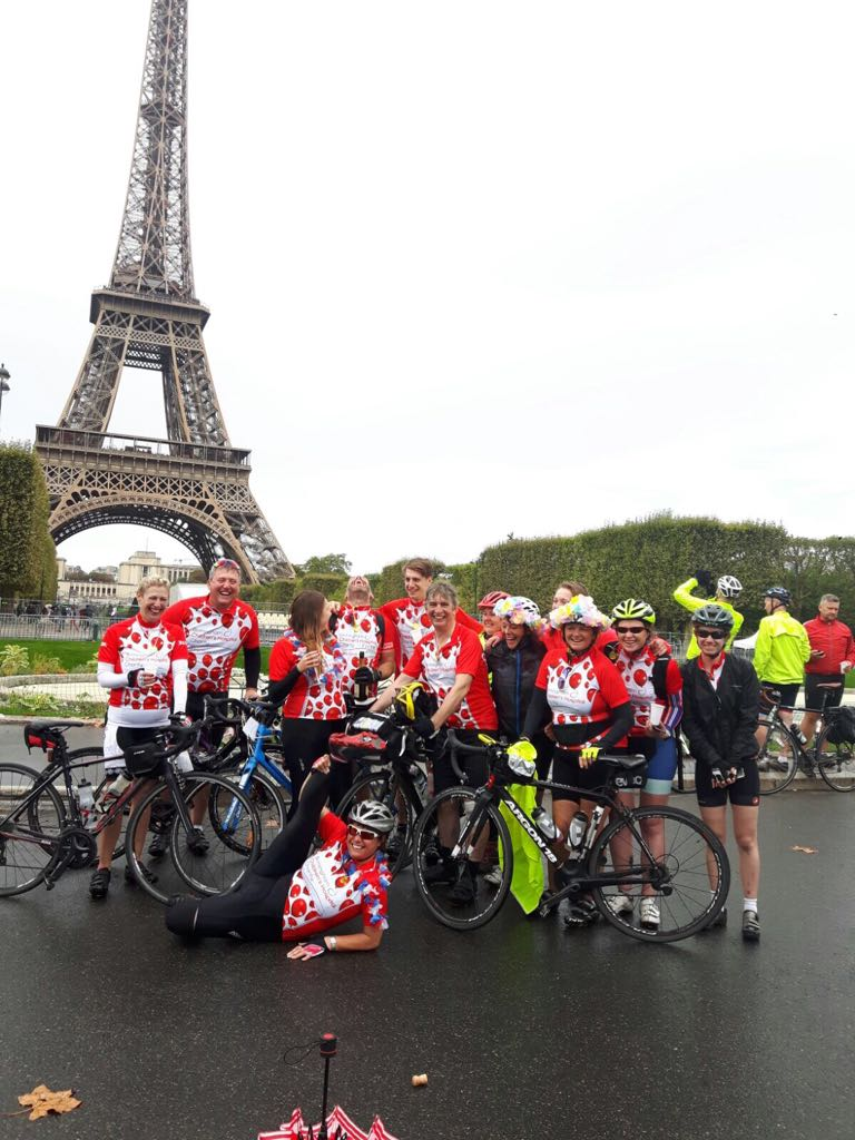 Birmingham Children's Hospital Charity is inviting its big hearted supporters to join them on their second annual London to Paris bike ride
