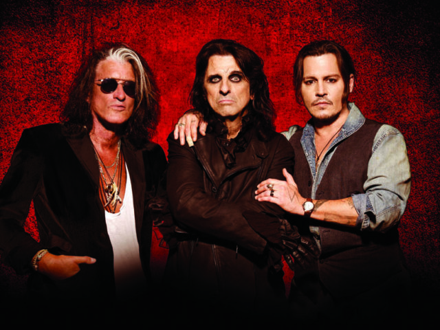 The Hollywood Vampires are launching their 2018 UK Tour in Birmingham in June