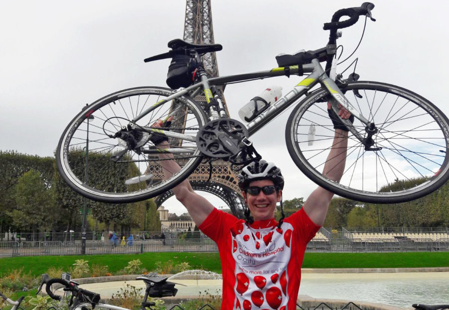Get on your bike to Paris for Birmingham Children's Hospital