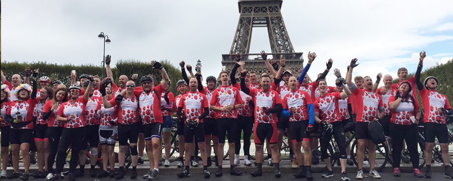 London to Paris bike ride for Birmingham Children's Hospital will be held between 5th-9th September