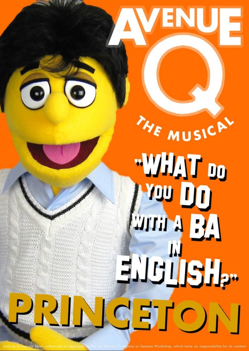 Avenue Q character Princeton