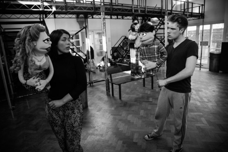 'Avenue Q' UK cast rehearsals ahead of performances in 2015