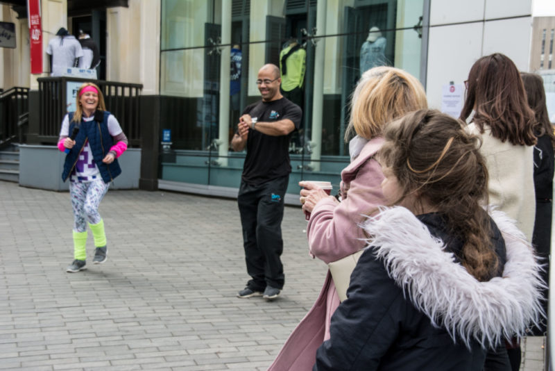 Bullring Birmingham and Disco Fitness for Sport Relief