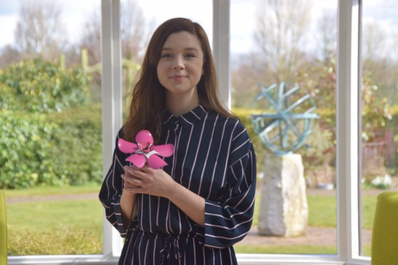 Claudia Jessie supports Forget Me Not at Birmingham St Mary's