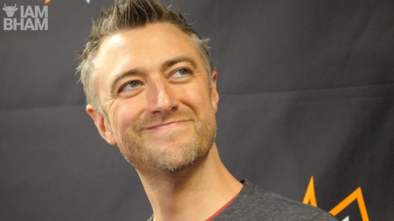 Hollywood actor Sean Gunn at the MCM Comic Con Birmingham