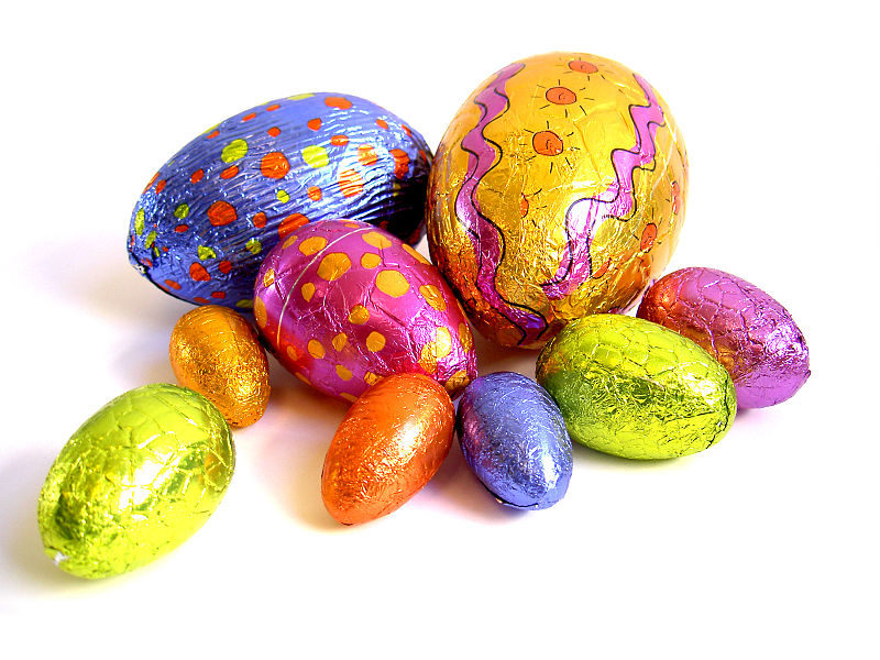 Activities will include Easter egg hunts and 'Guess the number of eggs in the jar'
