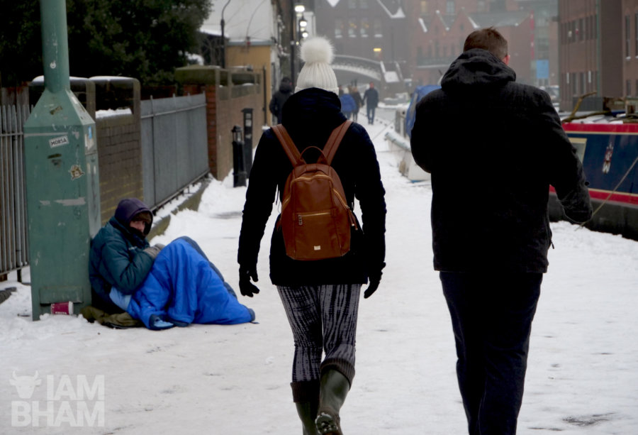 West Midlands officials launch plans to protect rough sleepers from harsh winter weather