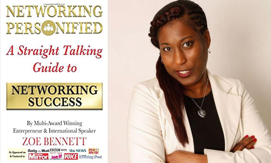 IWD Books Networking Personified by Zoe Bennett