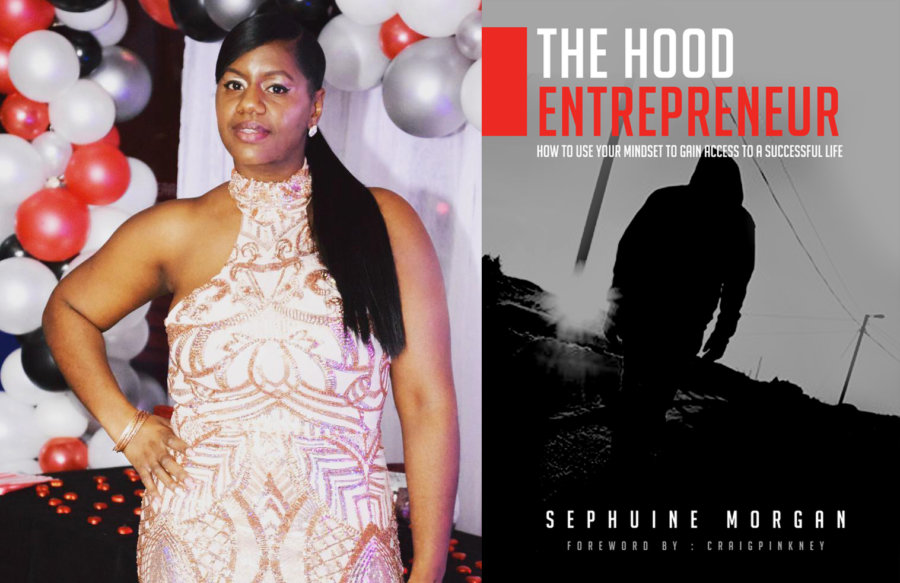 IWD Books The Hood Entrepreneur by Sephuine Morgan