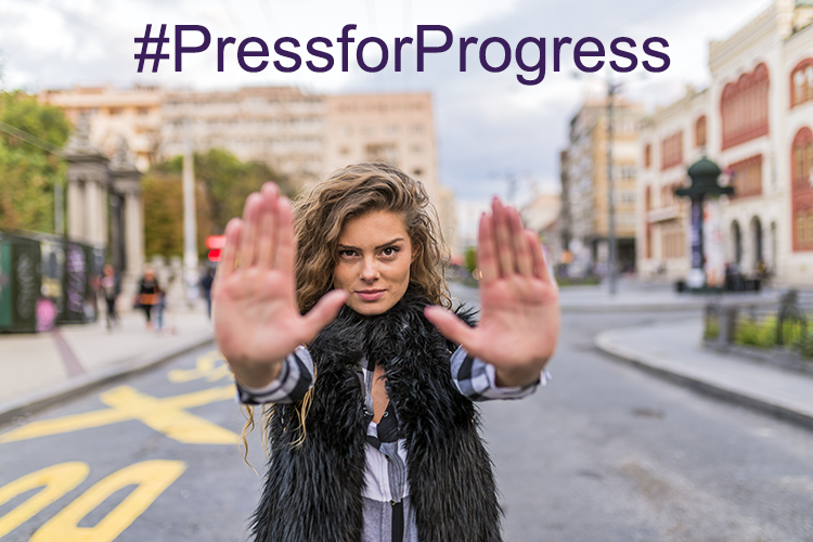 International Womens Day 2018 Press for Progress