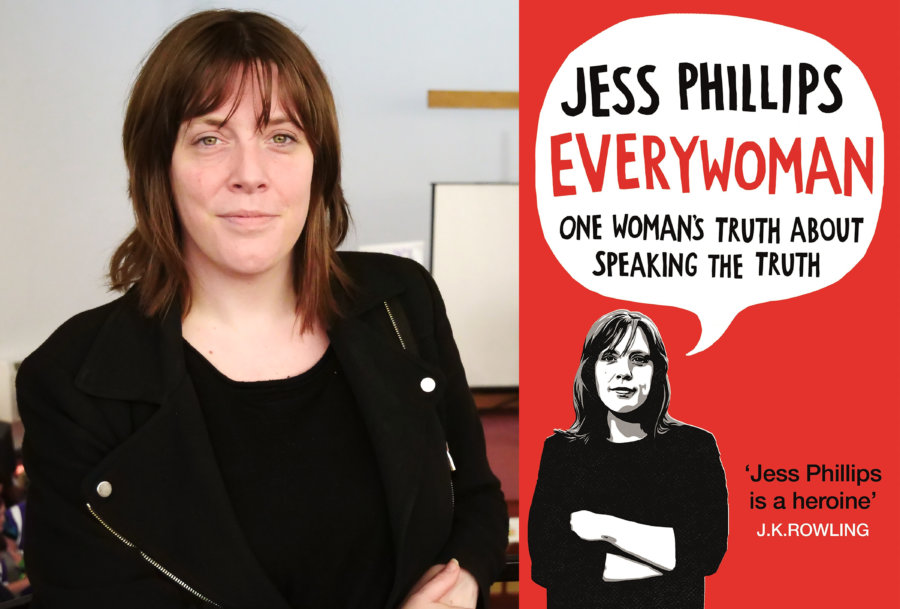IWD Books Everywoman by Jess Phillips